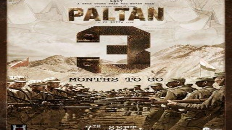 """Check Out the New Poster of """"Paltan"""""""