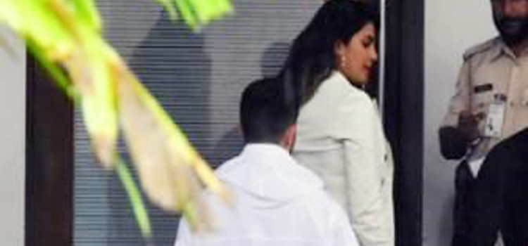 Priyanka Chopra Fly-Off To Goa With Nick Jonas