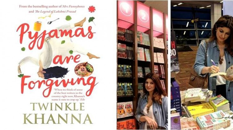 Twinkle Khanna to launch her third book in September