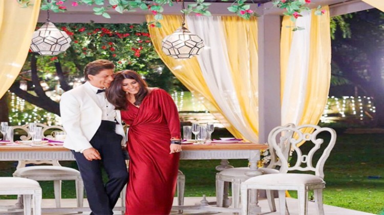 "Ekta Kapoor explains why she was blushing in the ""Kasautii Zindagii Kay"" promo with Shah Rukh Khan"