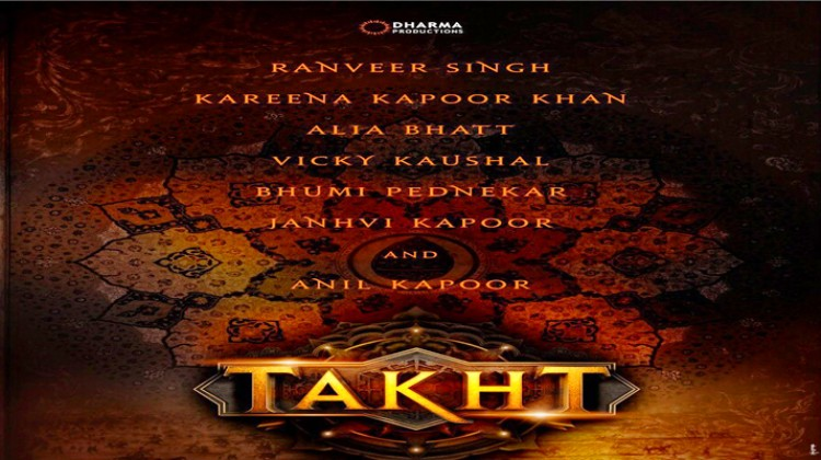"""Proud and Excited to be part of """"Takht"""" – Ranveer Singh"""