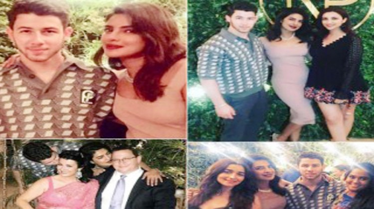 Priyanka Chopra And Nick Jonas Hosts An Engagement Party