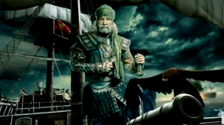 Amitabh Bachchan's first look as Khudabaksh out now