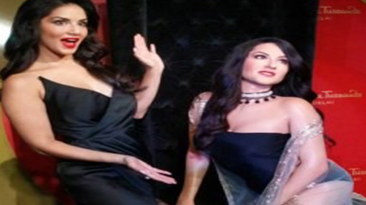 Sunny Leone Gets Her Own Wax Statue At Madam Tussauds in Delhi