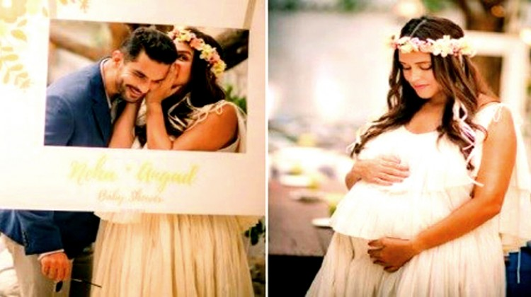 "My Baby's ""Baby Shower"" Says Angad Bedi"