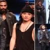 Gurmeet Choudhary And Nikhil Chinappa Walks For Asa Kazingmei At LFW