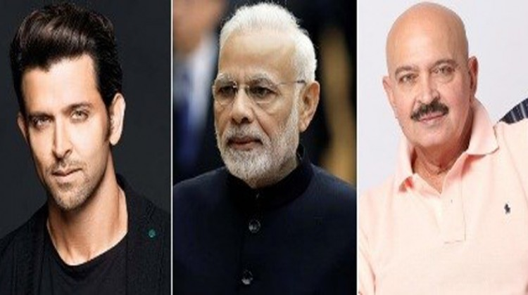 PM Narendra Modi Inquires About Rakesh Roshan's Health From Hrithik Roshan