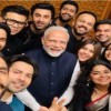 Bollywood Celebrities Meet And Interact with Prime Minister