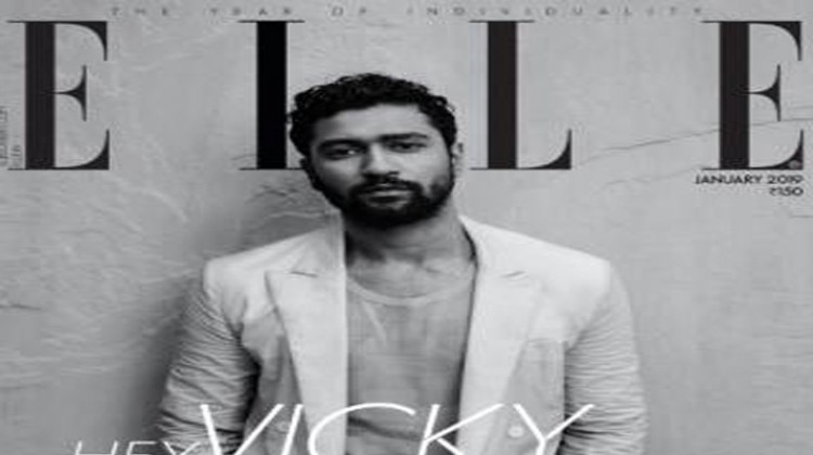 Vicky Kaushal Kick Starts 2019 With Elle India Cover