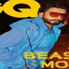 "Ranveer Singh In BEAST Mode on ""GQ"" Cover"
