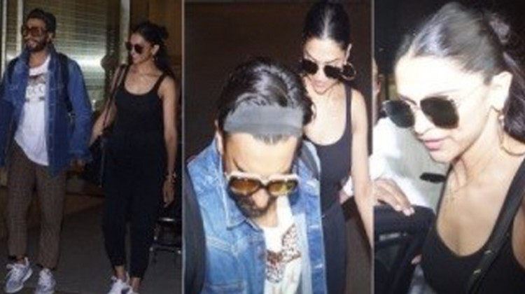 Ranveer Singh and Deepika Padukone Back Home after Honeymoon