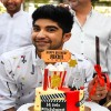 "Actor Nikhil Bhambri celebrates his 24th birthday bash with the entire ""Puncch Beat"" cast"