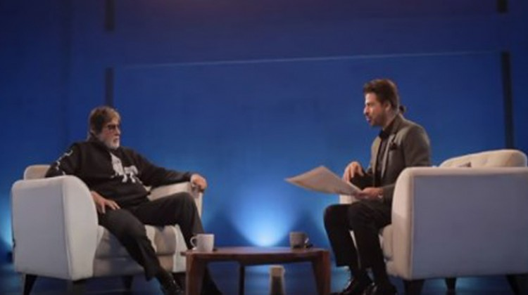 """Badla"" Unplugged – Amitabh Bachchan And Shah Rukh Khan Share A Candid Conversation"