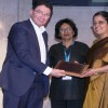 """Ravneet Kaur, Chairperson & Managing Director (C&MD), ITDC conferred with 'ISAW Women Achiever Award' for """"Professionalism in Management"""" at ITB Berlin"""