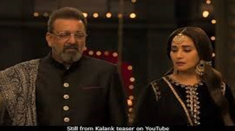 """Sanjay Dutt And Madhuri Dixit – Happy To Reunite For """"Kalank"""""""