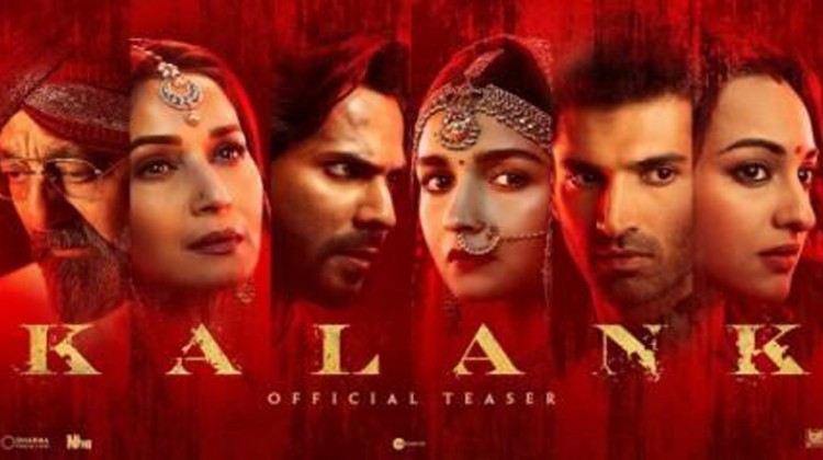 """""""Kalank""""trailer to be out in 2 days"""