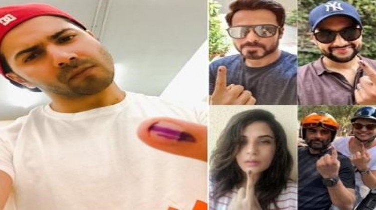 Varun Dhawan, Richa Chadha, Emraan Hashmi And More Cast Their Votes