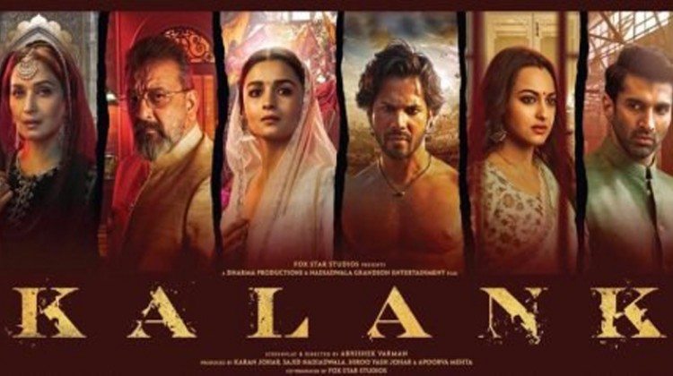"The eternal saga of love set in 1940s – ""Kalank"", Review"