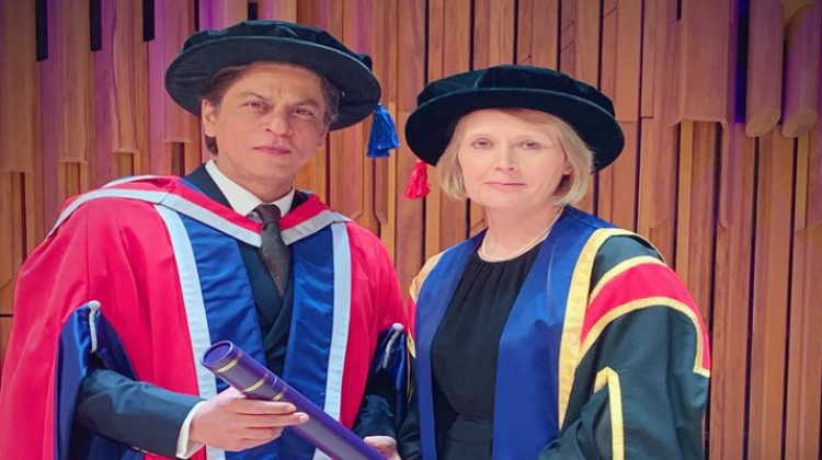 The University of Law, Thank You For The Honour, Says Shahrukh Khan
