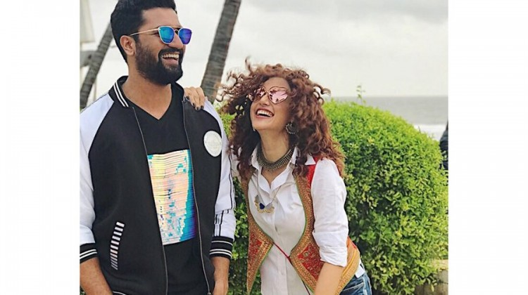 Taapsee thinks Manmarziyan costar Vicky Kaushal 'marriage material'