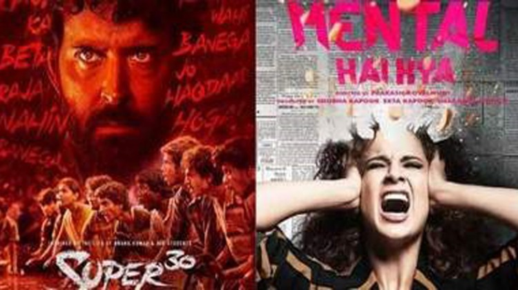 Hrithik shifts release date of 'Super 30' to avoid clash with Kangana's 'Mental Hai Kya'