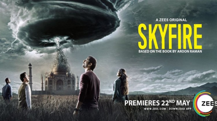 """SkyFire"" Gets A New Poster And Premiere Date"