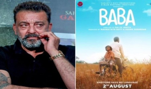 "Sanjay Dutt Unveils Motion Poster Of ""Baba"""