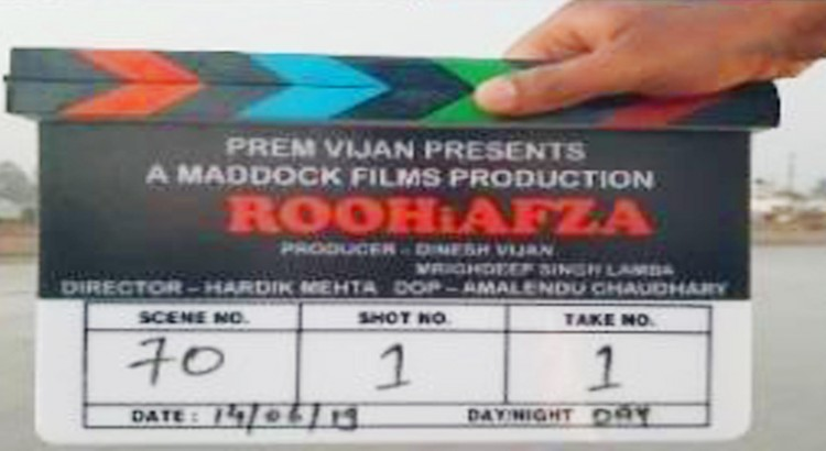 "Rajkummar Rao And Janhvi Kapoor Starts Shooting for ""RoohiAfza"""