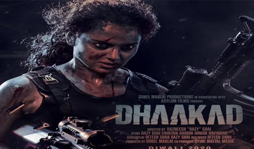 "First Female Action Avatar In Bollywood – Kangana Ranaut In ""Dhaakad"""