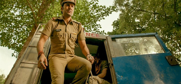 "Rajeev Khandelwal's look as a cop out from film ""Pranaam"""