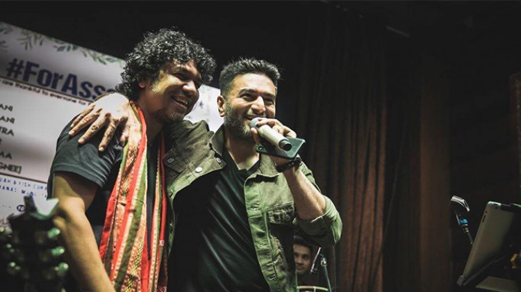 Singer who stood with flood hit Assam – Papon
