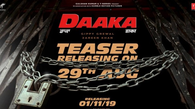 """Daaka"" Teaser Releases Tomorrow Starring Gippy Grewal and Zareen Khan"