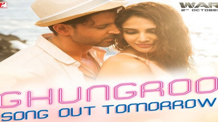 """Ghungroo"" From ""War"" Will Feature Hrithik Roshah And Vaani Kapoor"