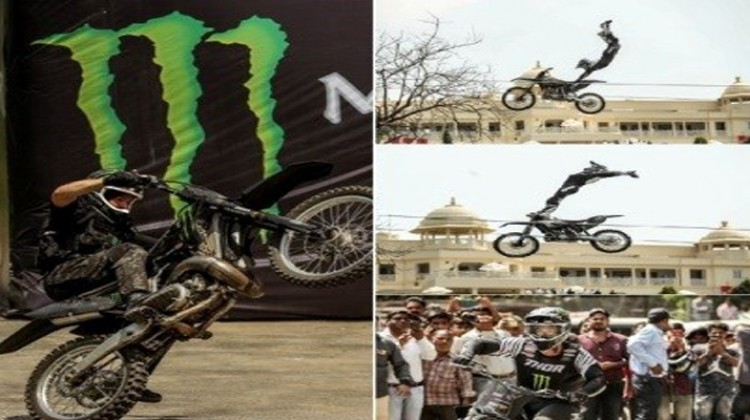 """X"" Games Gold Medalist, Jackson Strong, To Perform High Octane Stunts In Udaipur"