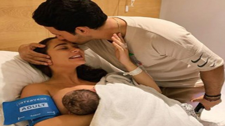 It's A Baby Boy For Amy Jackson And George Panayiotou
