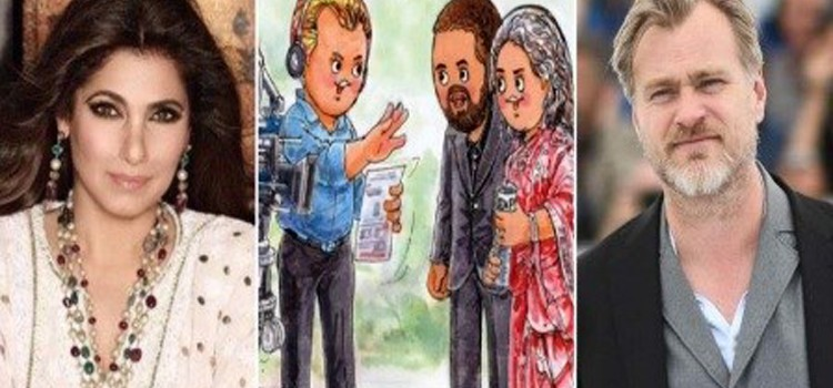 Christopher Nolan's 'Tenet' and Dimple Kapadia get an Amul Topical tribute