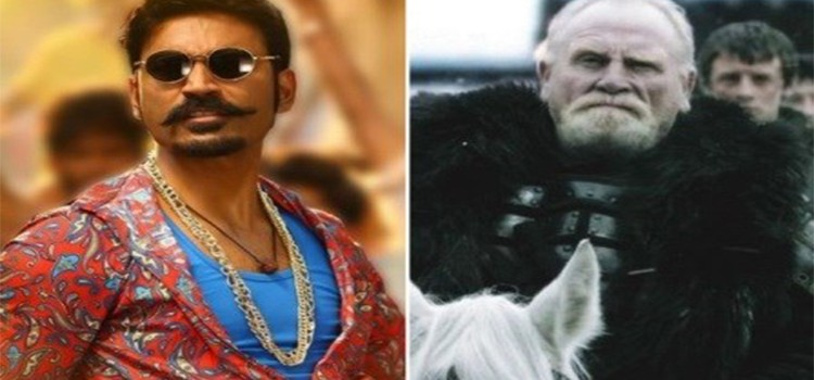 'GOT' Famed Jeor Mormont Joins Dhanush and Karthik Subbaraj film