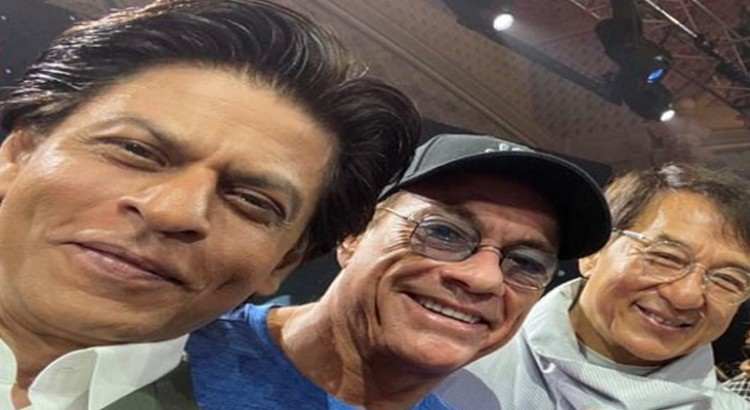 Shah Rukh Khan Shares a Selfie With Jackie Chan and Jean-Claude Van Damme