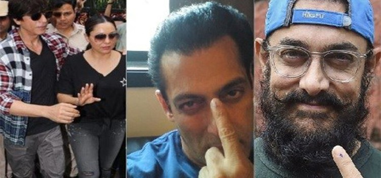 Aamir Khan, Shah Rukh Khan And Salman Khan Urge Fans To Vote